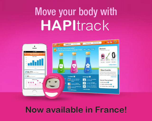 Move your body with HAPItrack!
